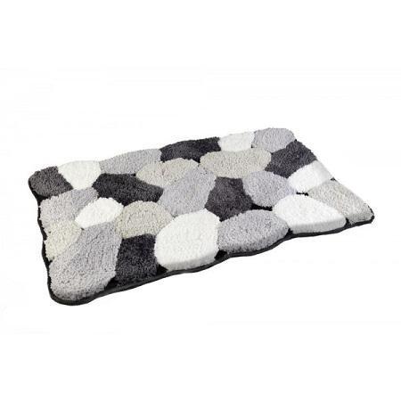szary dywanik łazienkowy