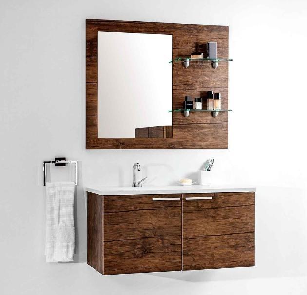 Drewniane meble łazienkowe Antado Sycylia nadają elegancji każdej łazience.
