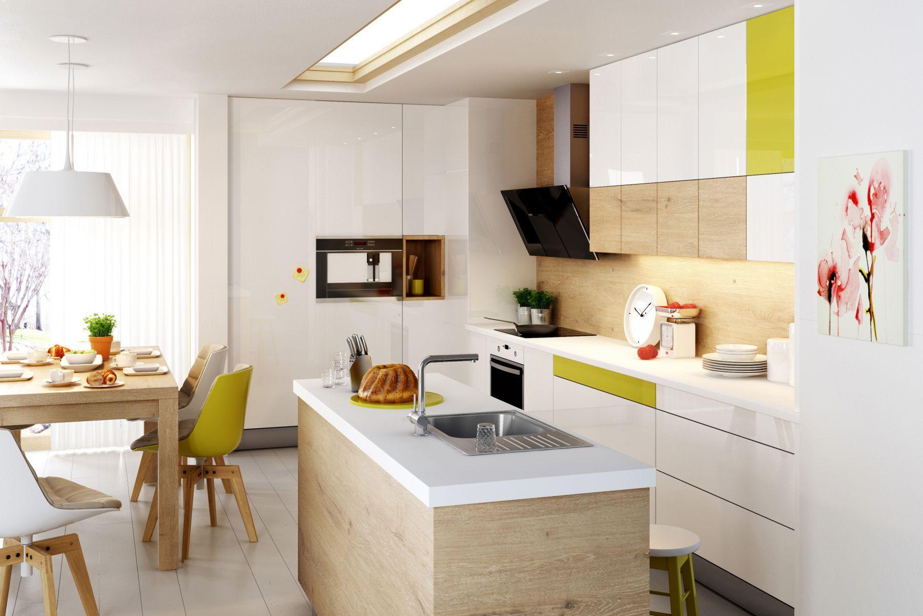 Jak urządzić salon z aneksem kuchennym?  Lazienkaplus pl -> Kuchnia Z Salonem Jak Urządzić