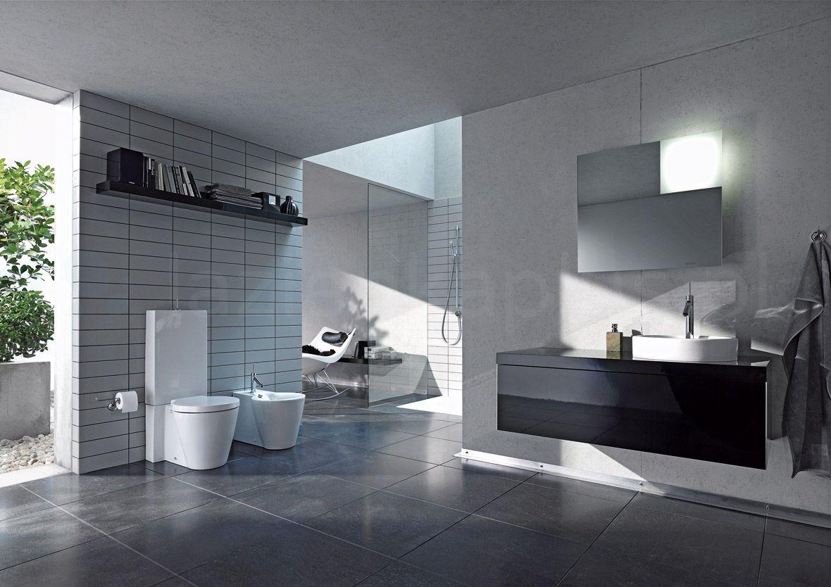 Szara azienka 9 sposob w na oryginaln aran acj - Panneau stratifie salle de bain ...
