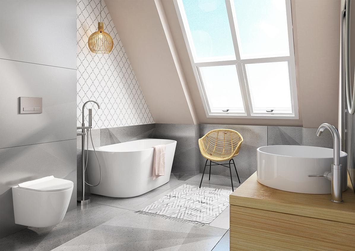 łazienka Na Poddaszu Praktyczne Porady Pomysły Inspiracje