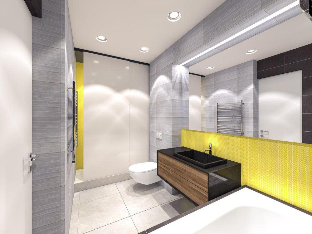 żółta łazienka Inspirowana Wielkanocą Porady Lazienkapluspl