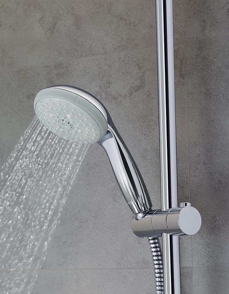 Podłączenie węża prysznicowego na zewnątrz